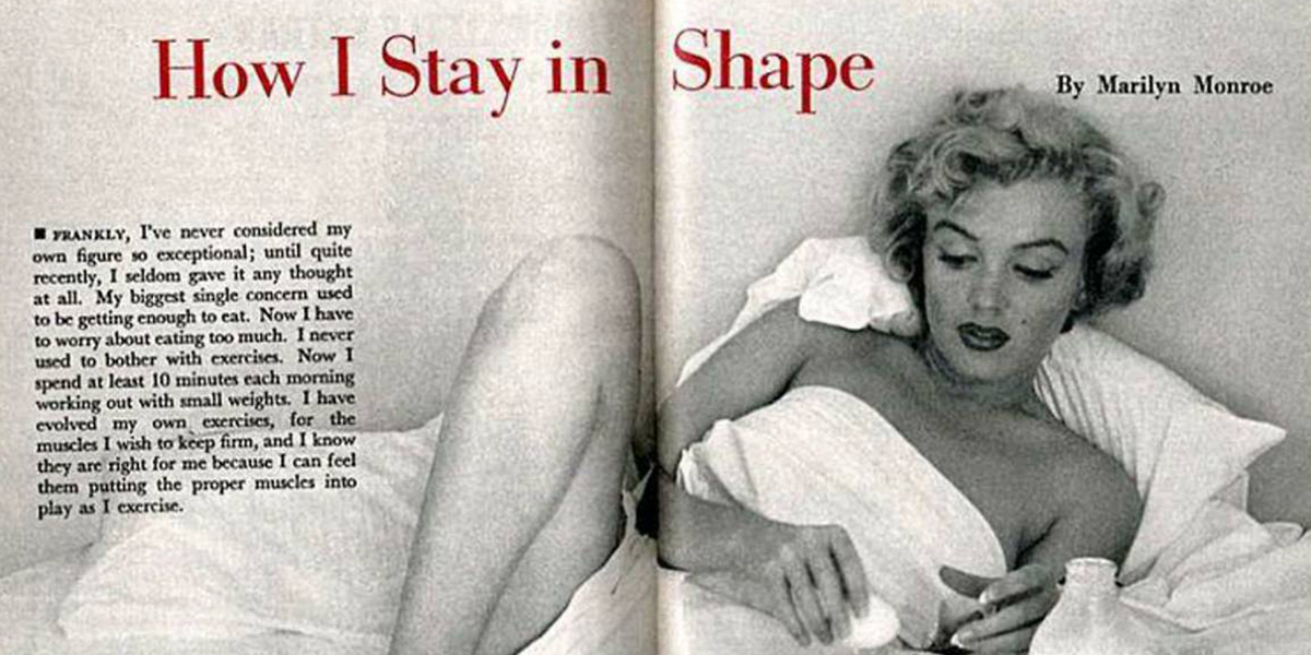 marilyn monroe beauty advice