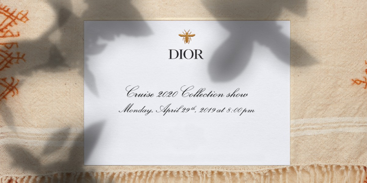 Image Source: Dior