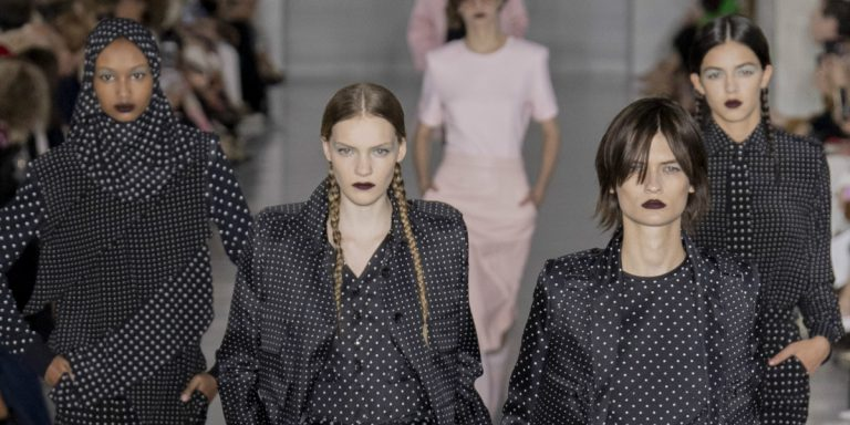 'Glam Goth' Vibes Were All The Rage At Fashion Week SS20