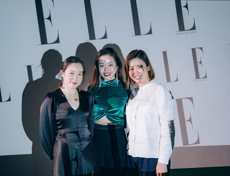 Andrea Sim, Melissa Quah and Jaime Chua