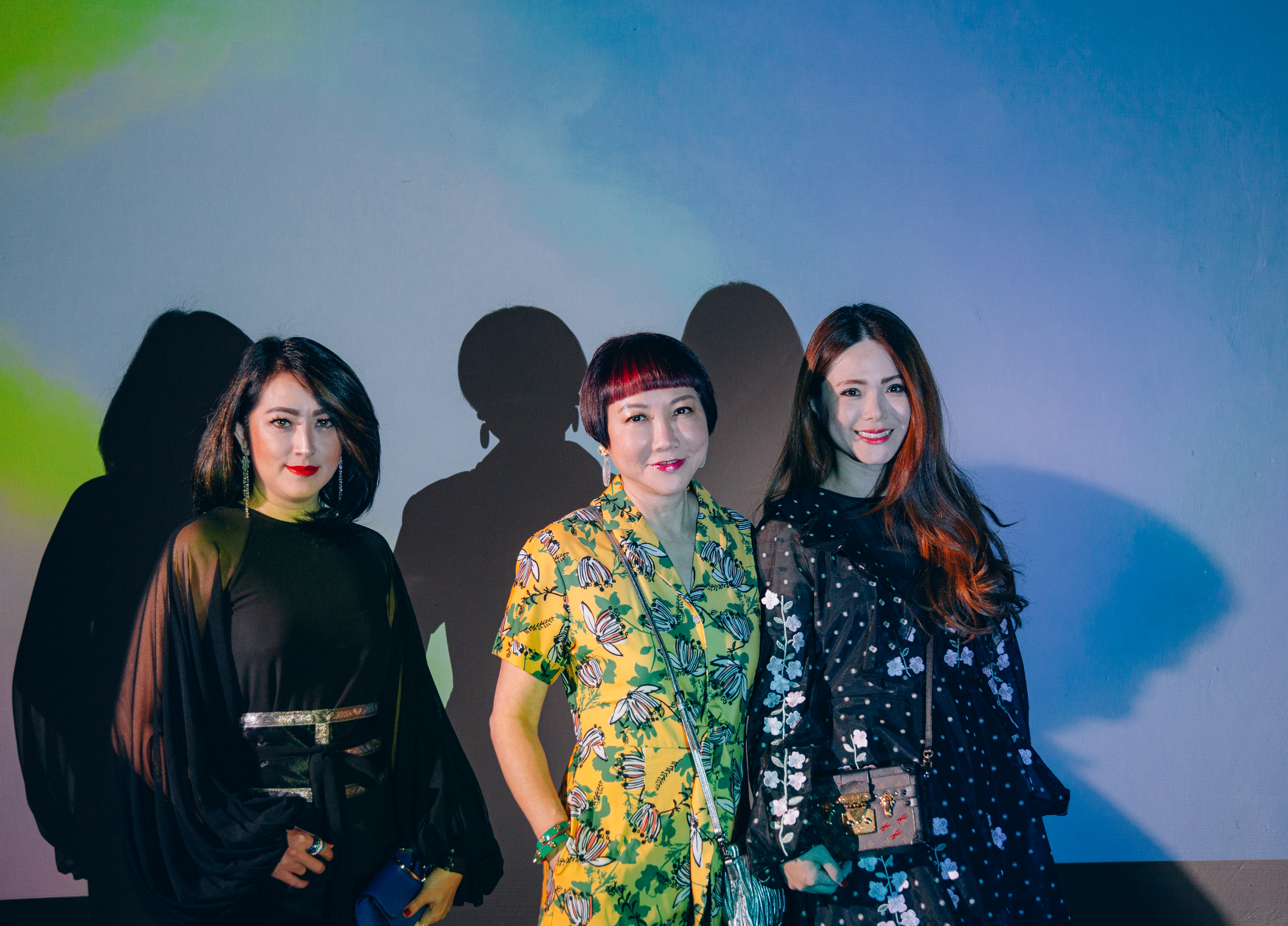 Angela Poppy, Frances Low and Chermaine Pang
