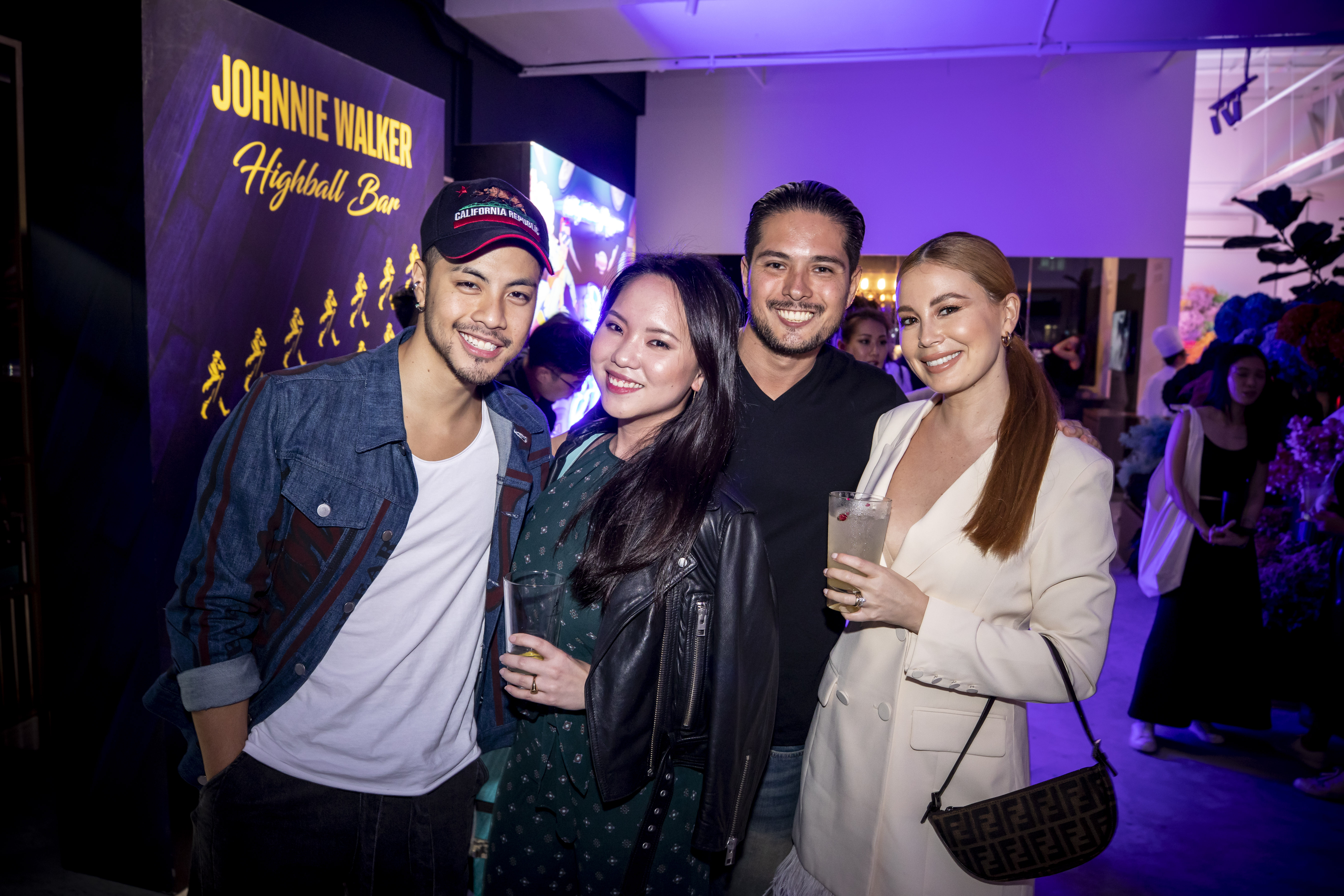 Benjamin Kheng, Sarah Wong, Sean Nason and Yvette King