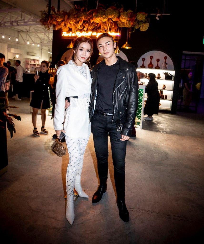 Carol Loo and Jumius Wong