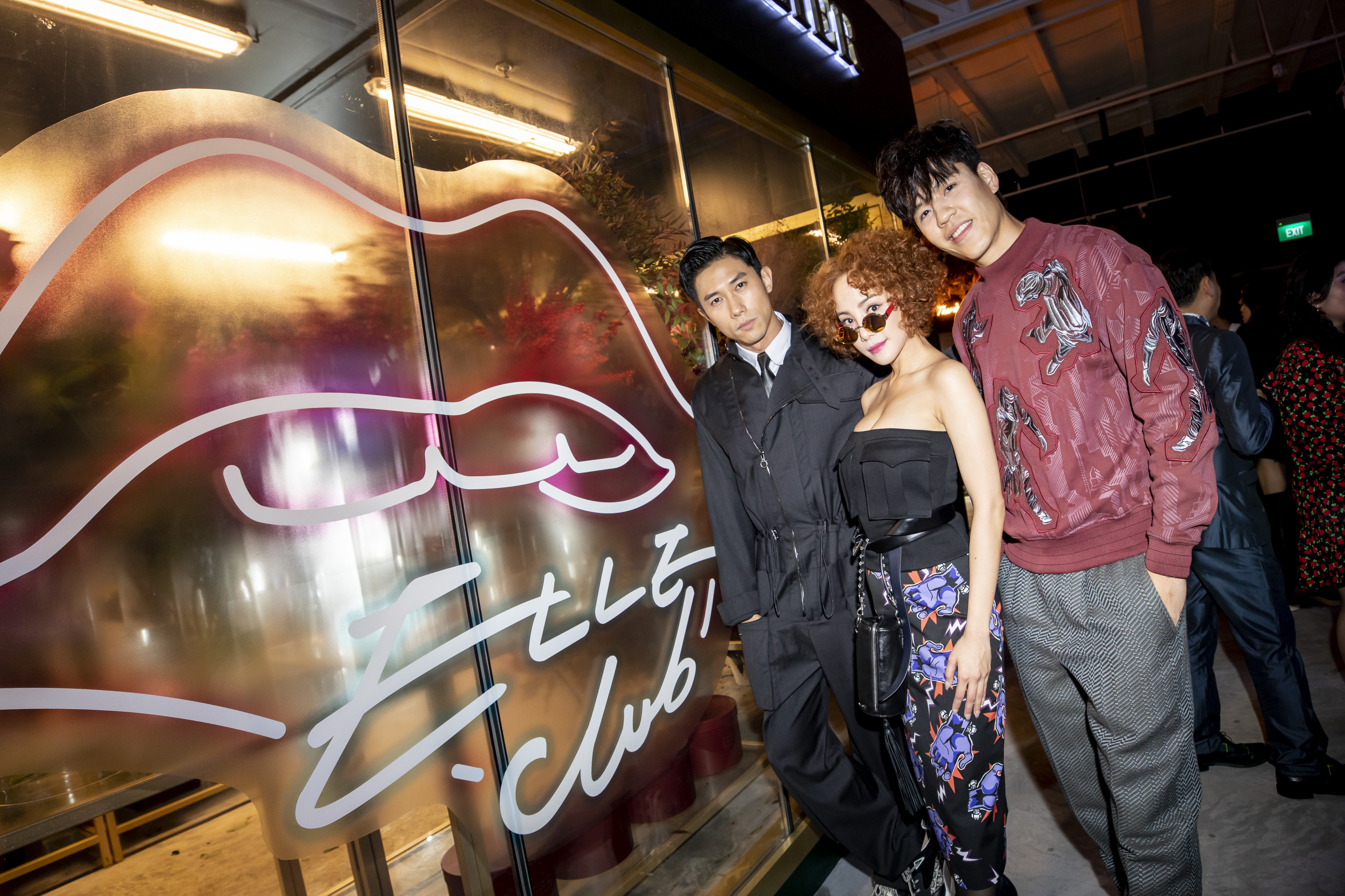 Desmond Tan, Fiona Xie and Chase Tan