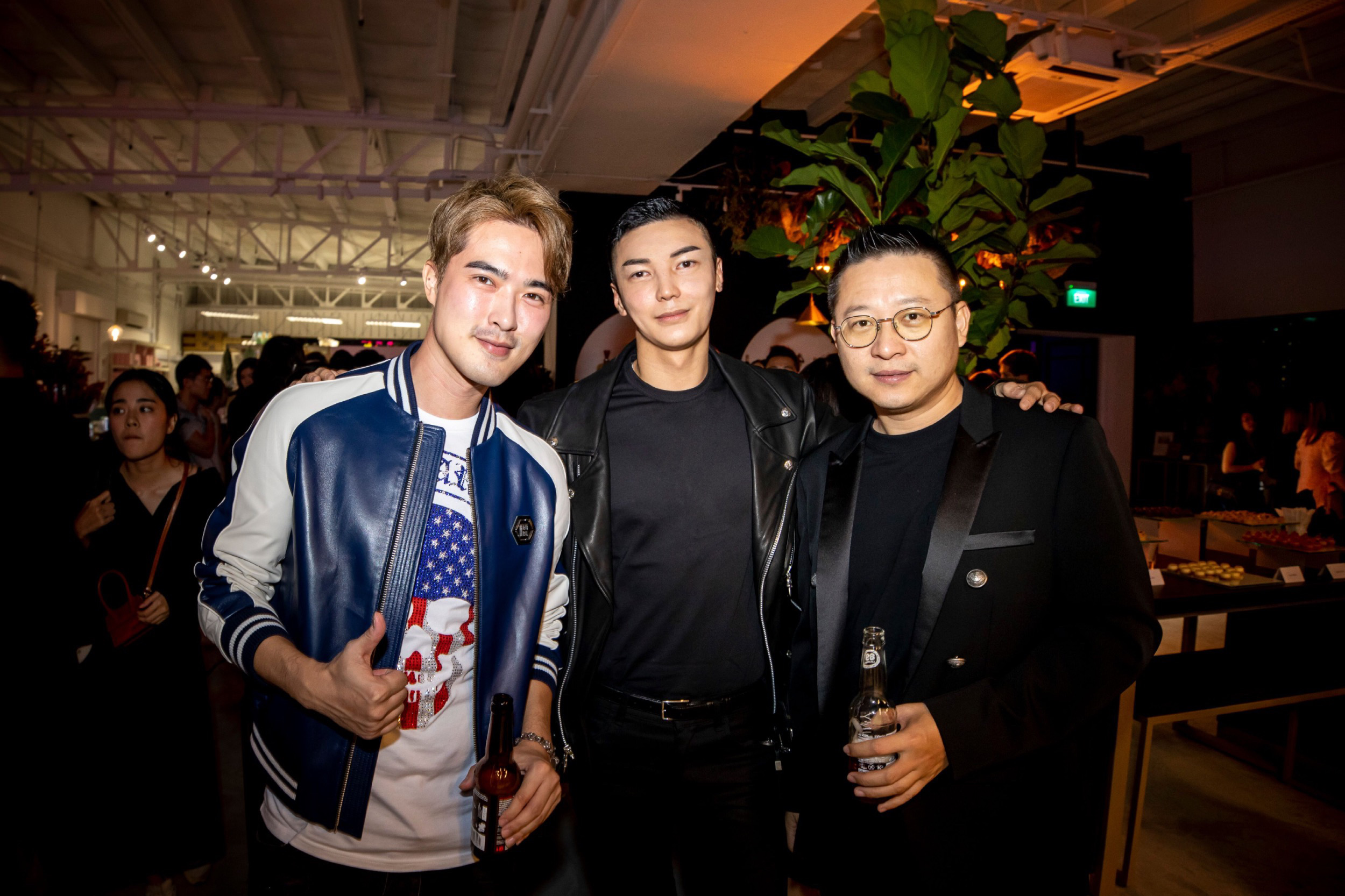 Ethan Lee Teng, Jumius Wong and Paul Chen