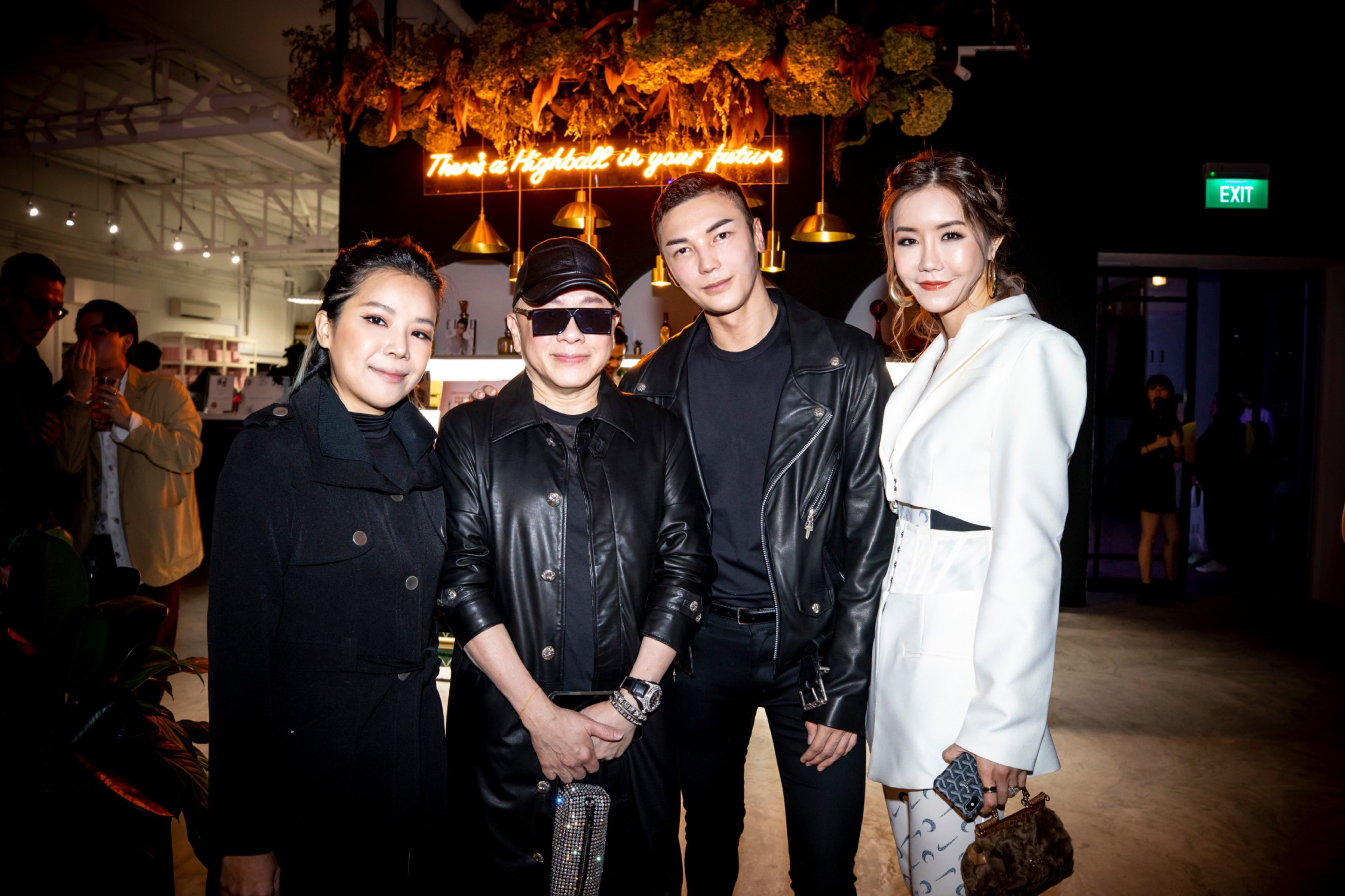 Manisa Tan, David Gan, Jumius Wong and Carol Loo