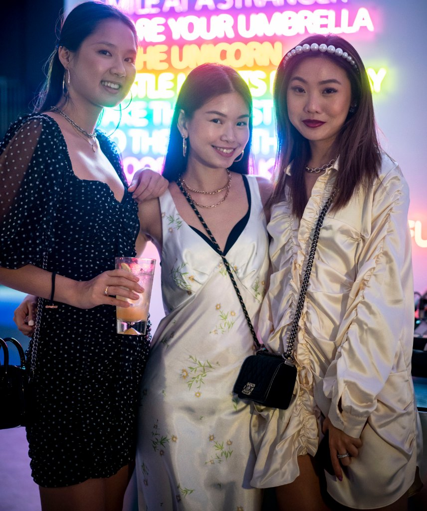 Nathania Sia, Tasmin Fong and Tiffany Koh