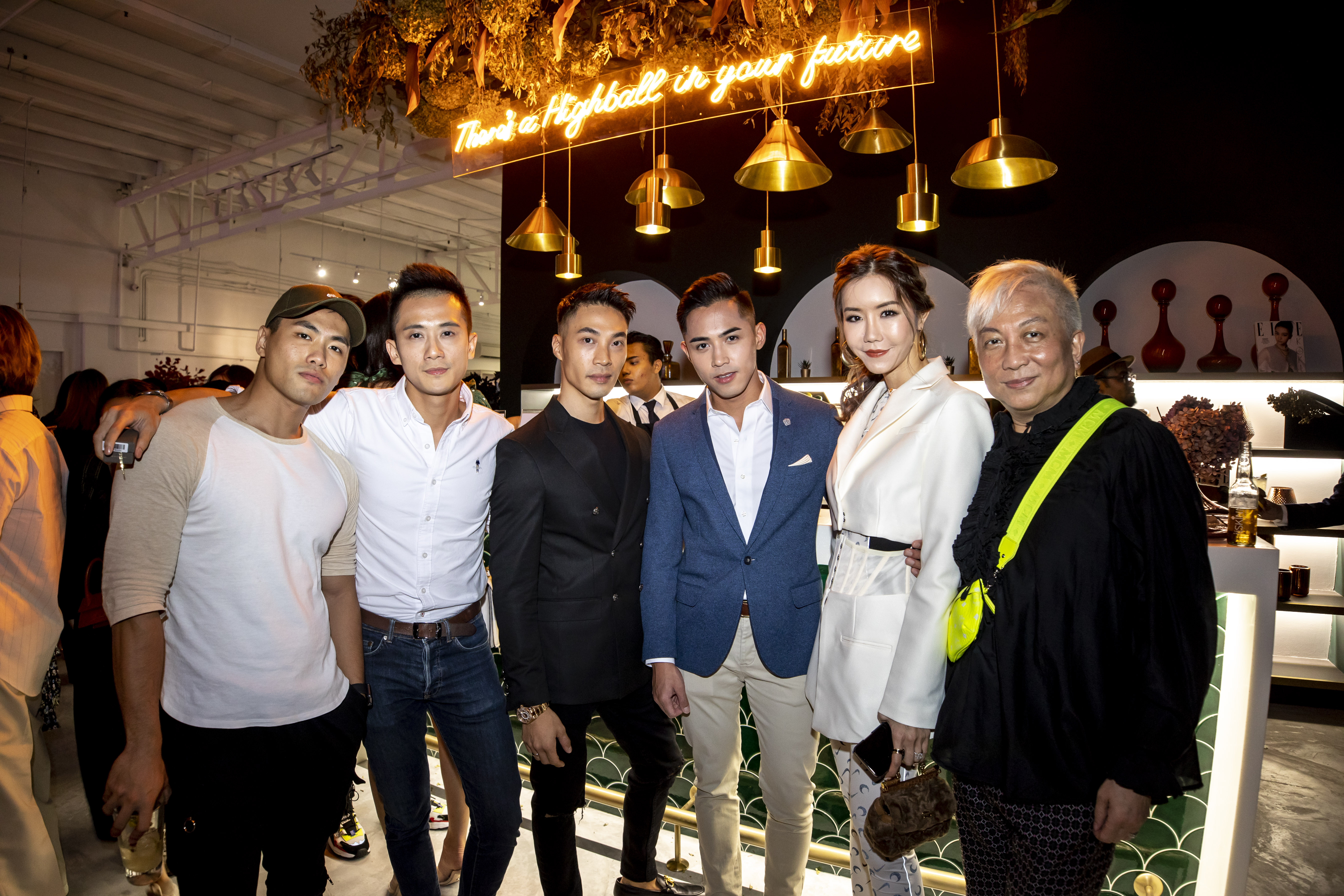 Nic Su, Nick Teo, Jordan Kwan, Danil Palma, Carol Loo and Addie Low