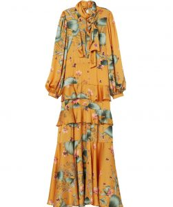 Orchid Paradise Tiered Maxi Dress - S$94.95, RM249