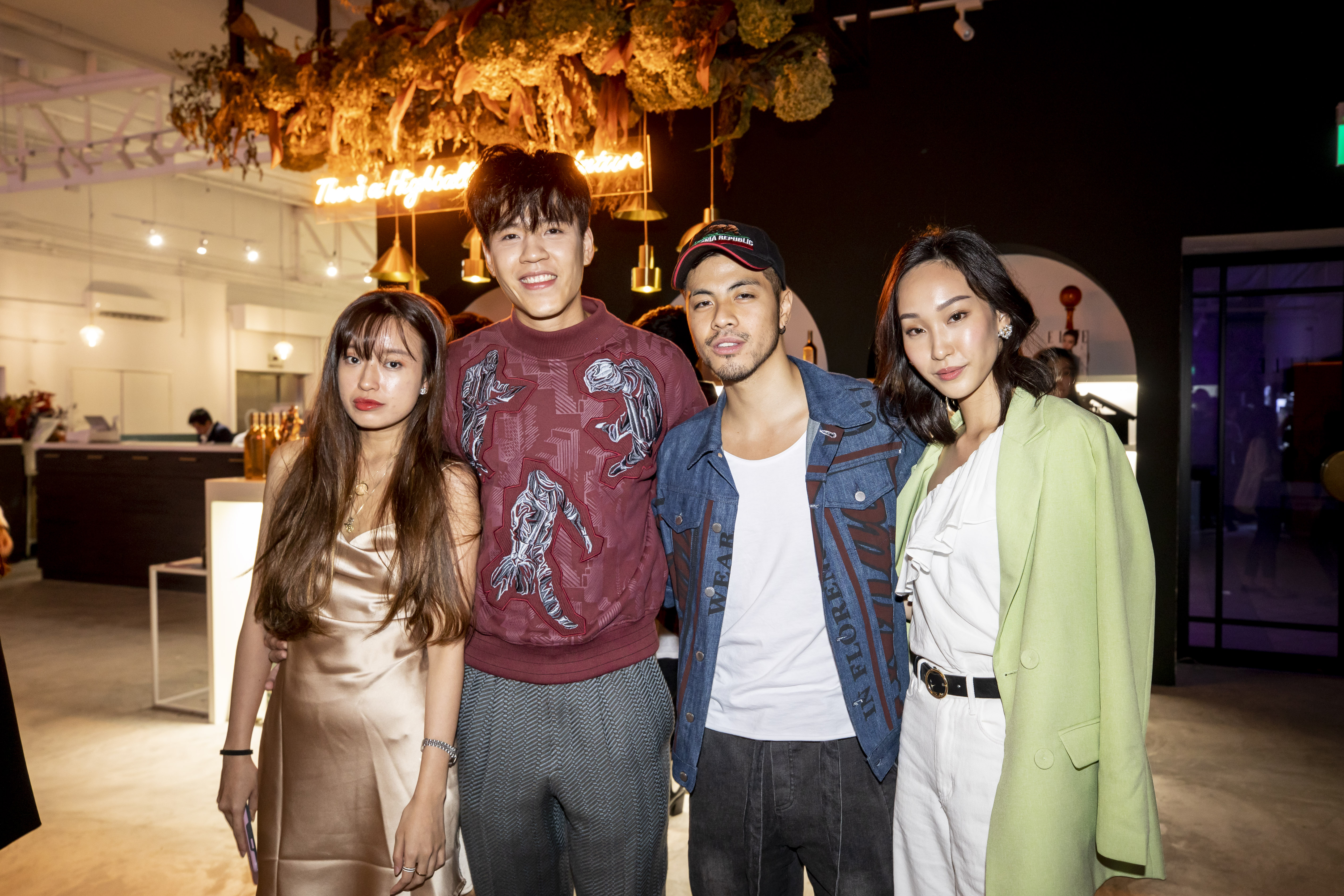 Rebecca Ten, Chase Tan, Benjamin Kheng and Constance Lau