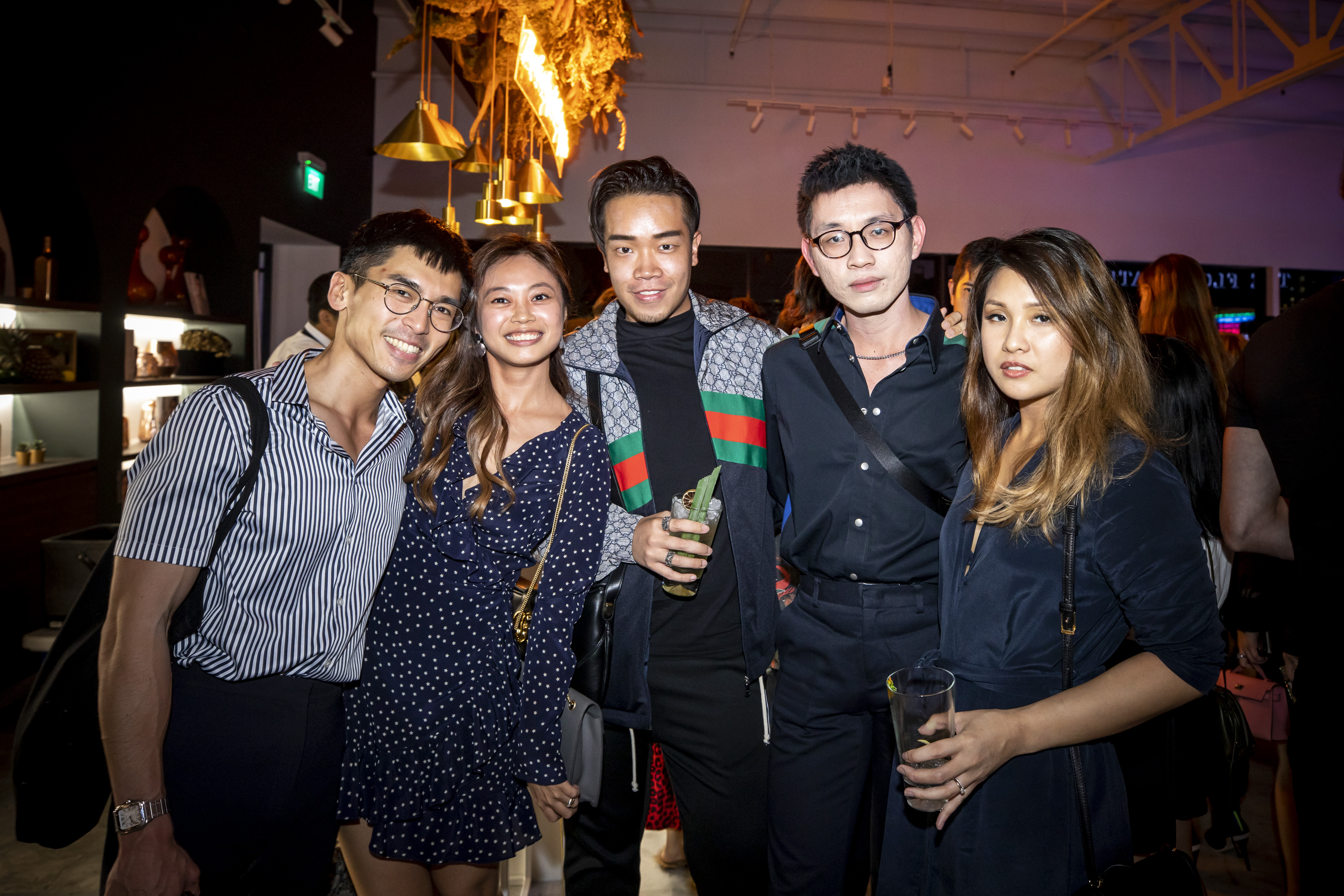 Richard Gan, Rachel Lee, Jerome Lim, Clayton Lau and Audrey Tan