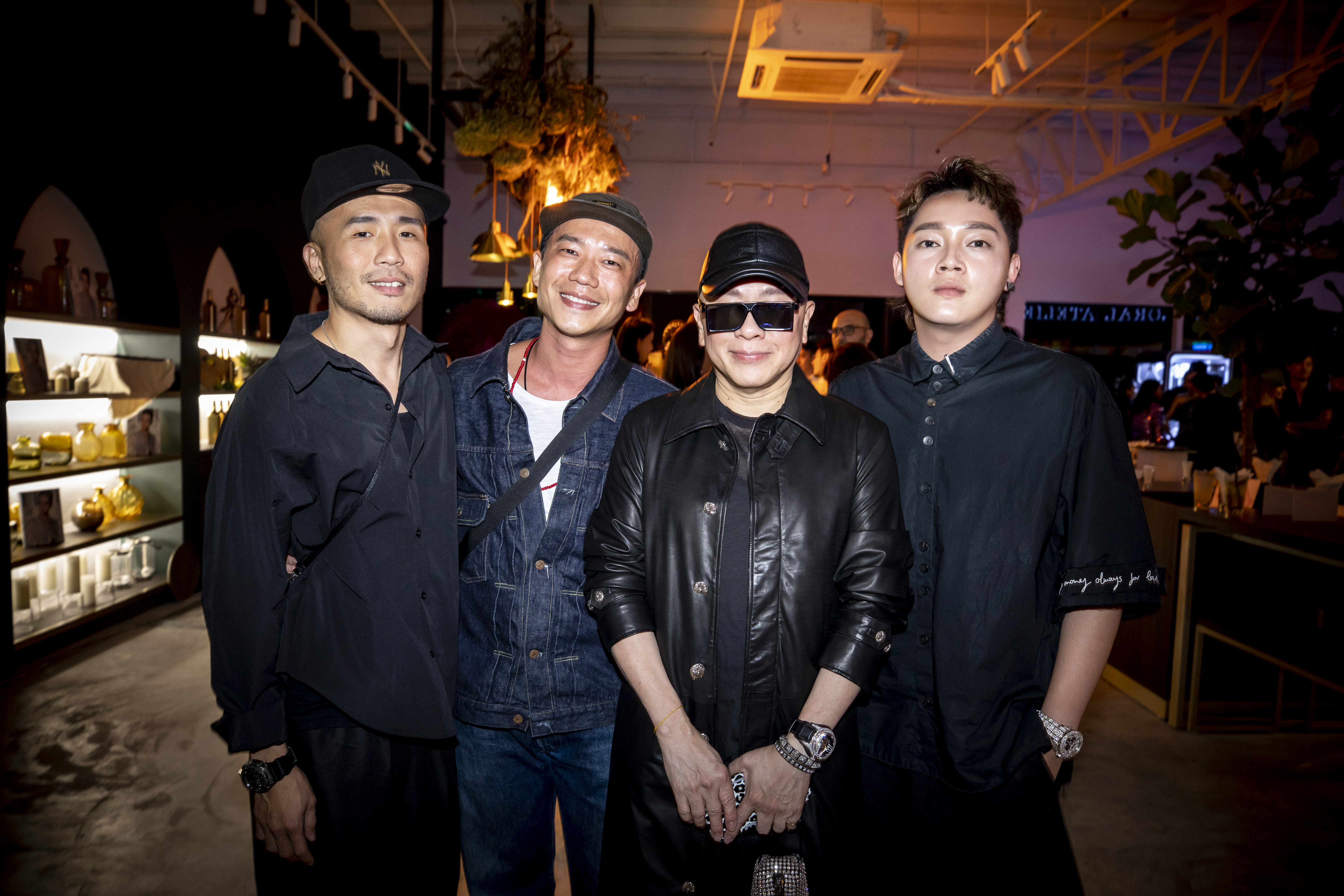 Ryan Yap, Gary Low, David Gan and Rainbow Yew