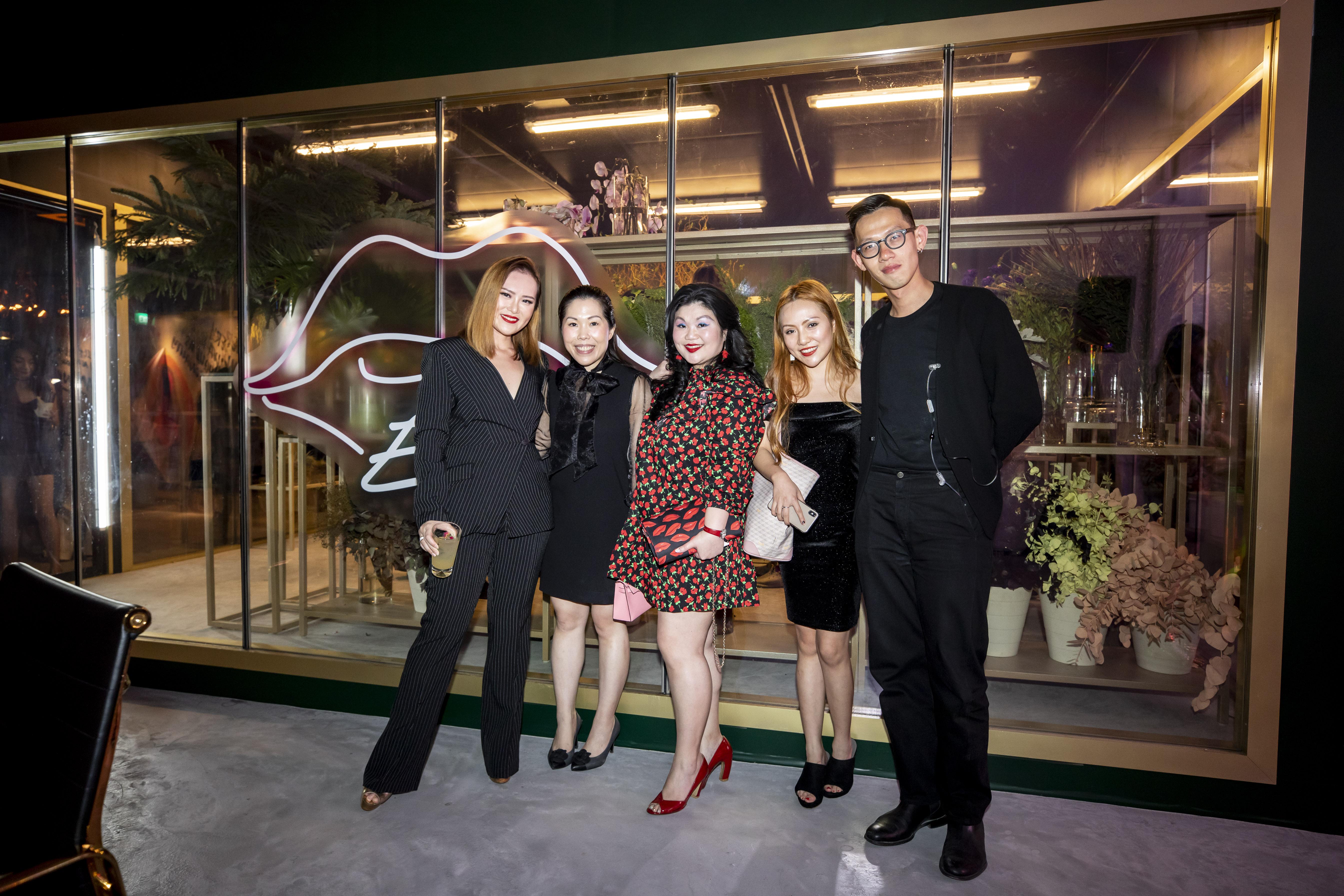Sabrina Ho, Jas Ng, Lam Tse Yi, Rani LanYifan and Joe Ng