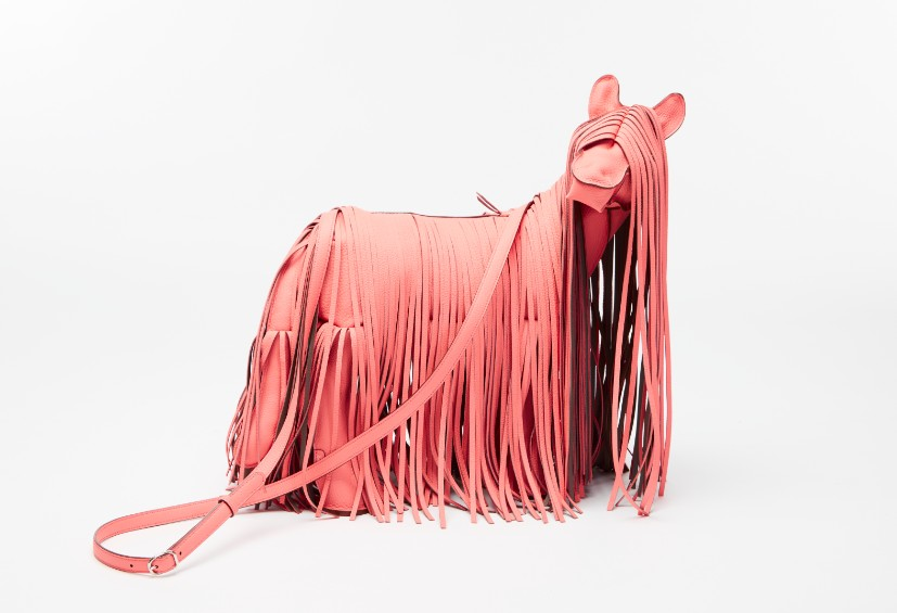 pony bag in leather