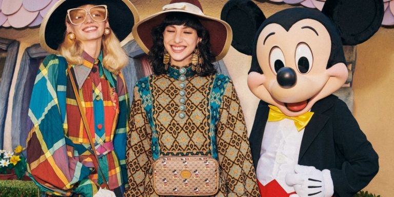 Gucci's CNY 2020 Collection Heralds The Year of The Rat With Disney Icon, Mickey Mouse