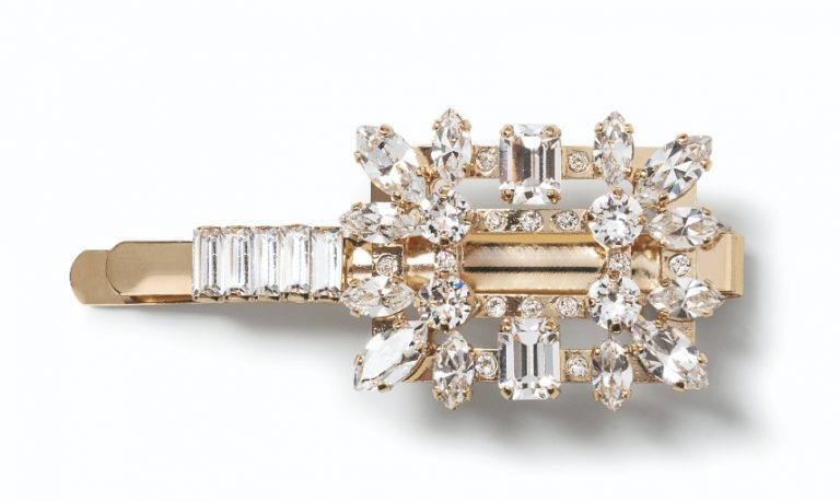 Roger Vivier Spring-Summer Collection 2020 - Jewels Hair clip RV broche mini - HD CMJN