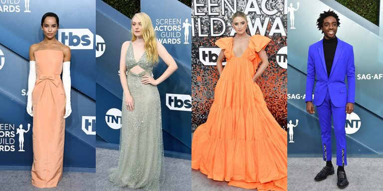 The Best Celebrity Red Carpet Looks At The 2020 SAG Awards