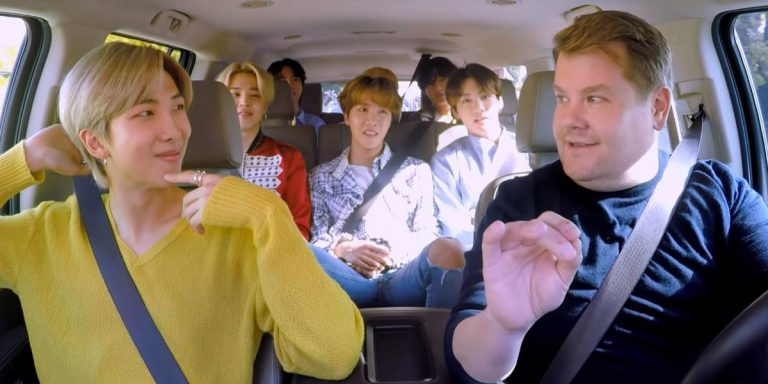 BTS' Carpool Karaoke Is The Funniest Joy Ride You'll See All Day