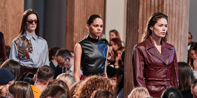 The Best Looks From Salvatore Ferragamo's Powerful Fall/Winter 2020 Show