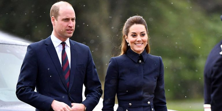 Kate Middleton Stepped Out In A Chic McQueen Skirt Suit In Leicestershire