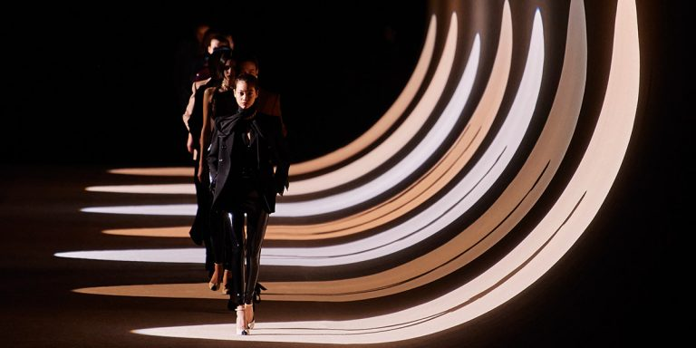 The Best Looks From Saint Laurent's Seductive Fall/Winter 2020 Show