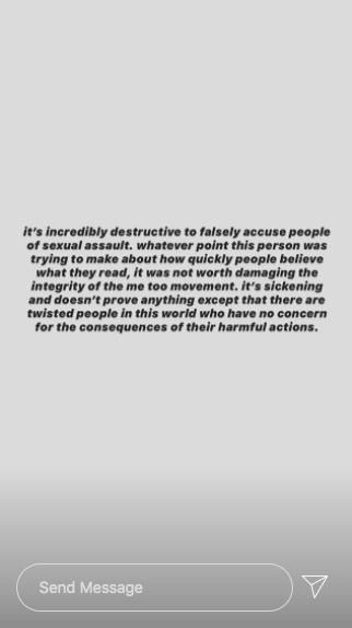 Camila Mendes, Instagram