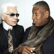 André Leon Talley, Karl Lagerfeld