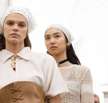 Dior Cruise 2021, Backstage