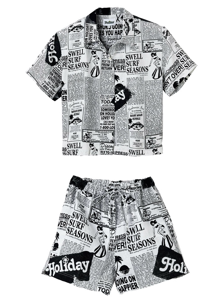 Holiday The Label Pyjama Short Set