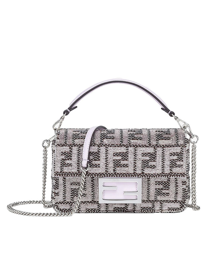 Fendi Embroidered Baguette