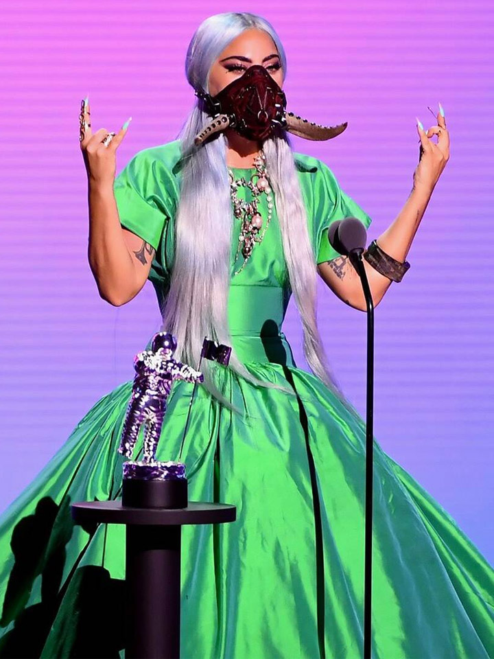 VMAs 2020 Red Carpet, Lady Gaga