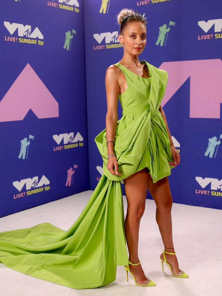 VMAs 2020 Red Carpet, Nicole Ritchie