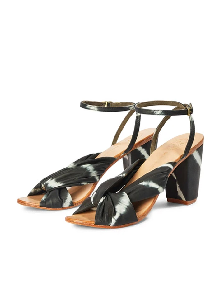The Tui Collection Strappy Tie Dye Shoes