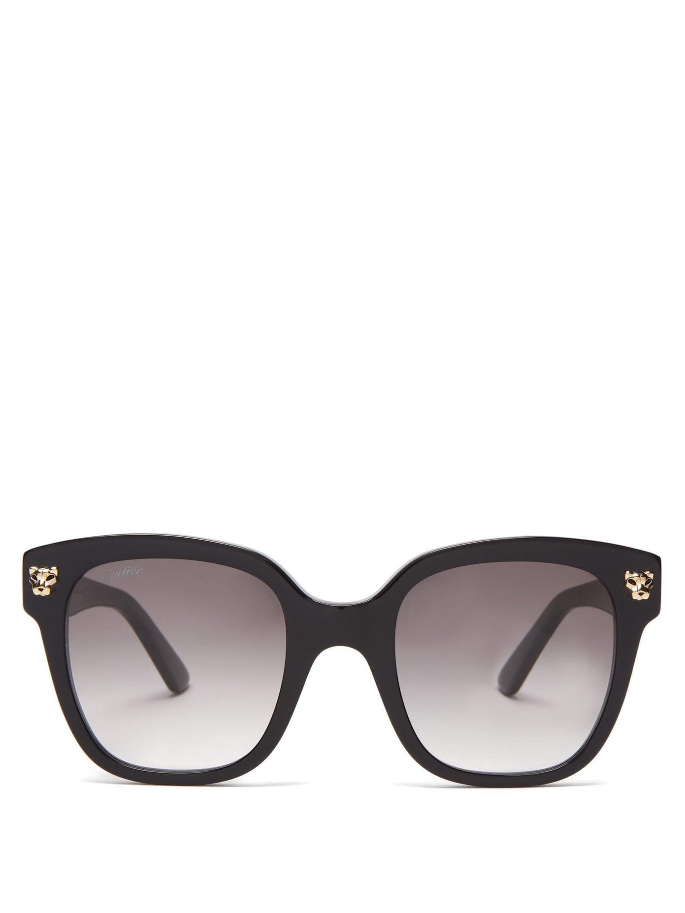 Cartier — Panthère de Cartier Square Sunglasses