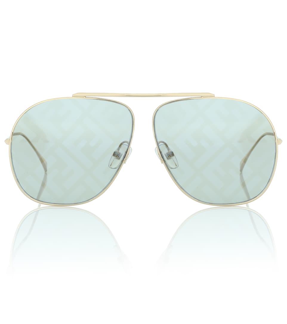 Fendi — FF Family Aviator Sunglasses
