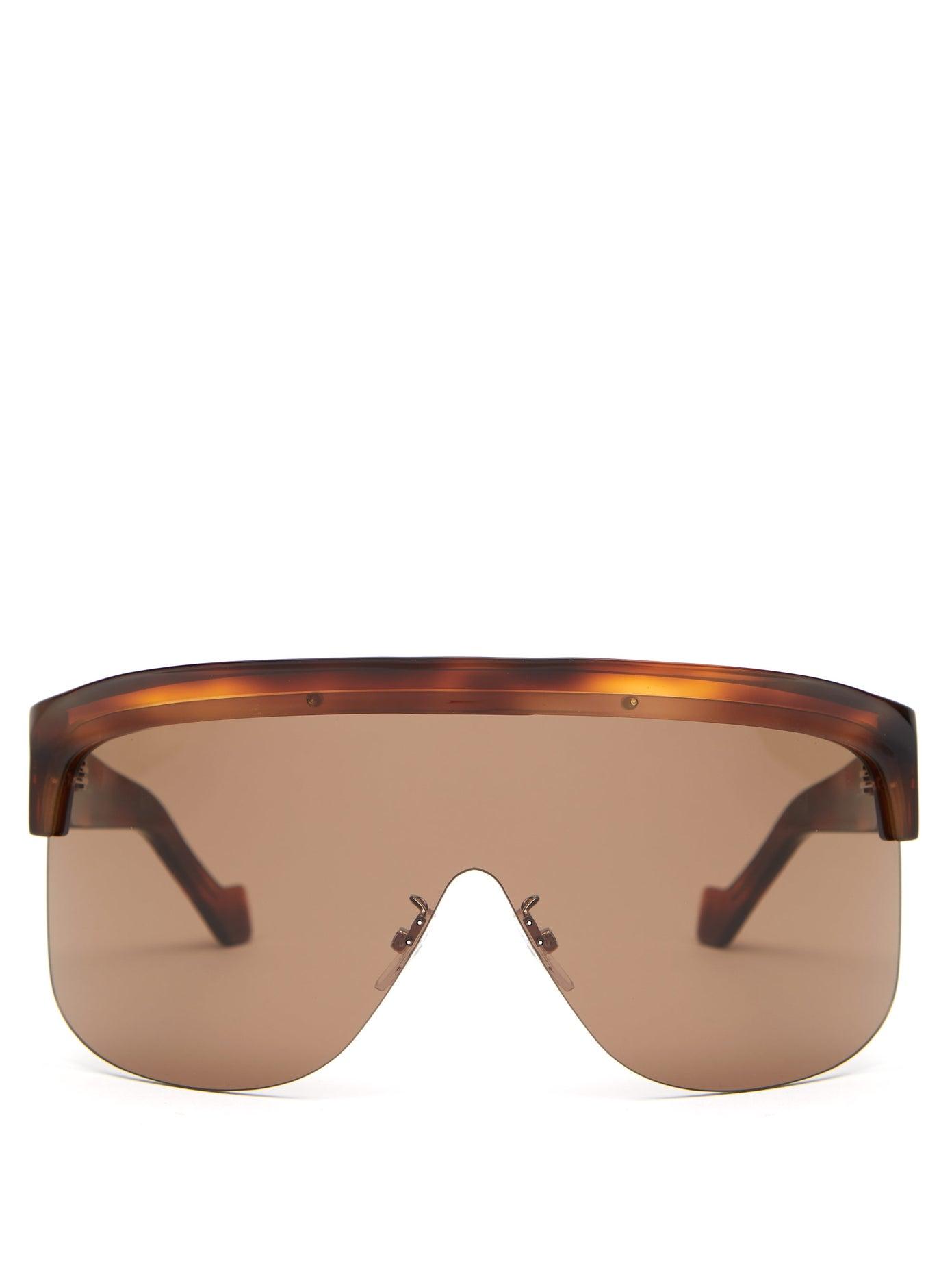 Loewe — Show D-frame Visor Sunglasses