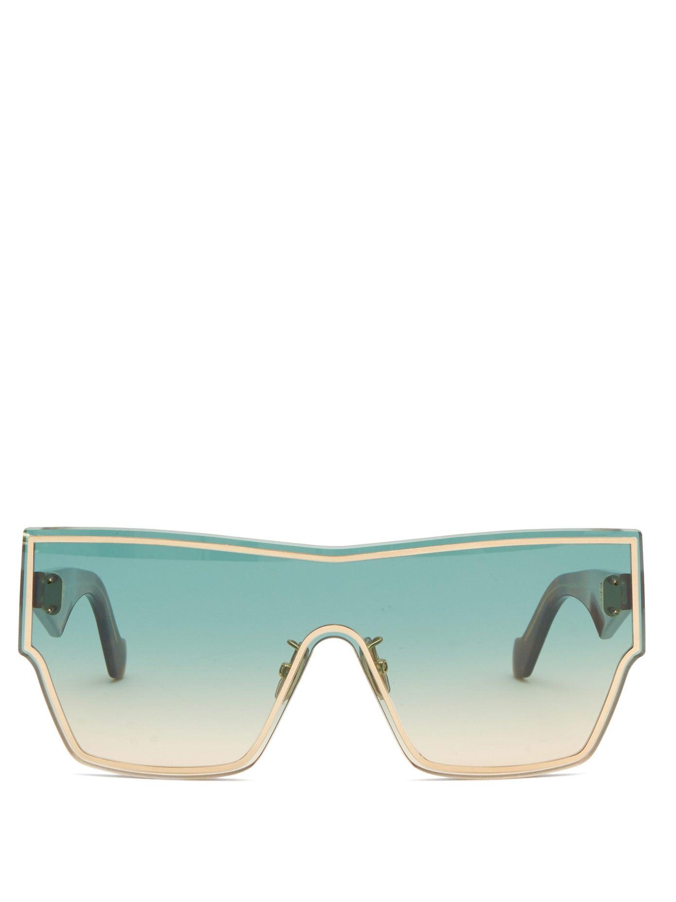 Loewe — Gradient Shield-lens Acetate Sunglasses
