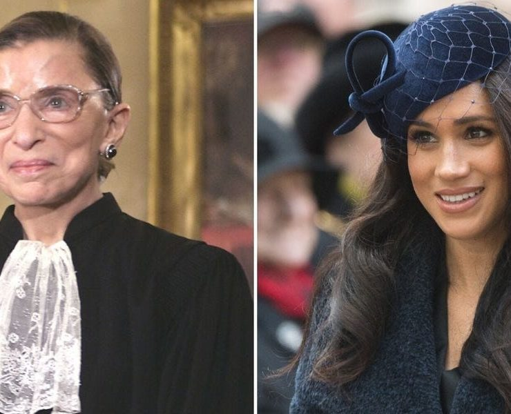 Meghan Markle and RBG