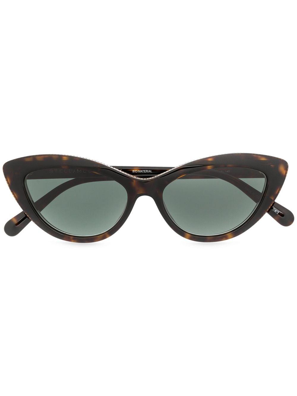 Stella McCartney — Chain-trimmed Cat Eye Sunglasses