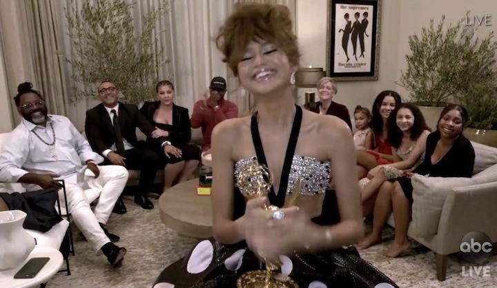 Zendaya Winning Emmys