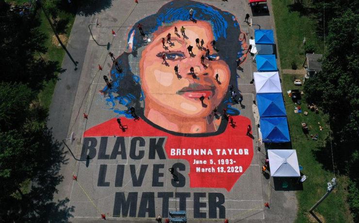 Breonna Taylor, Black Lives Matter