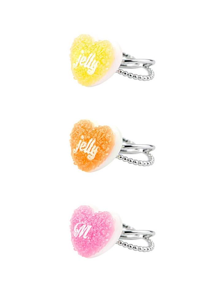 Mikshimai Heart Sugar Jelly Ring