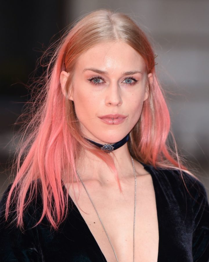 Mary Charteris Rose Gold Hair