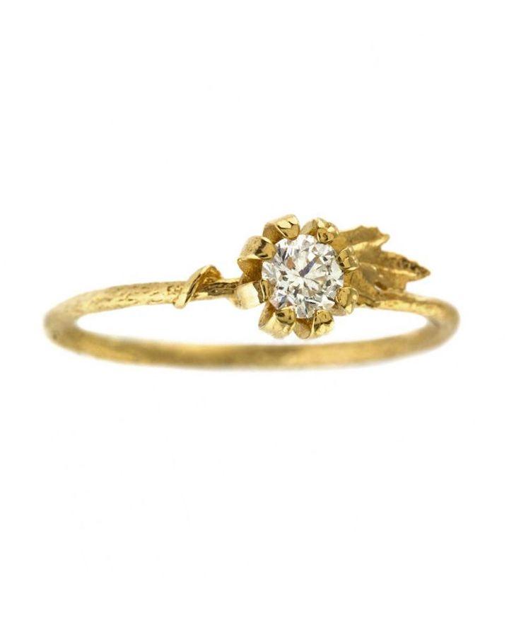 Alex Monroe Engagement Ring