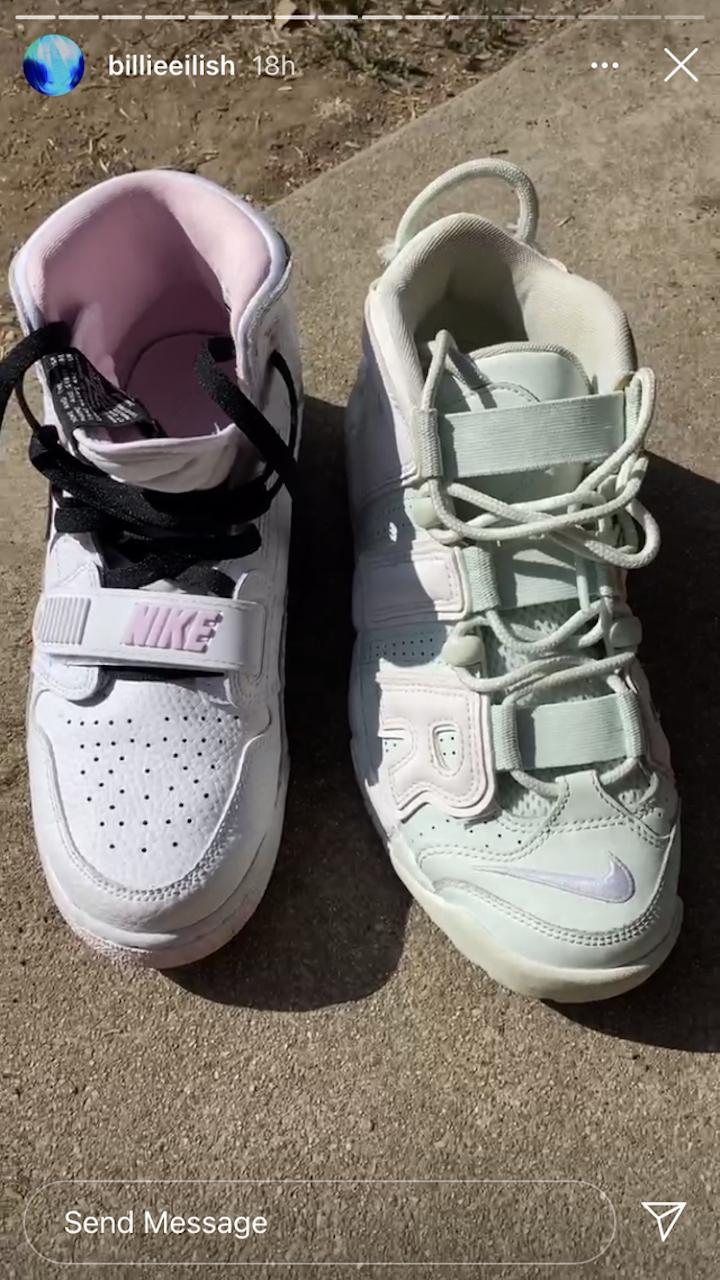 Billie Eilish, Shoes