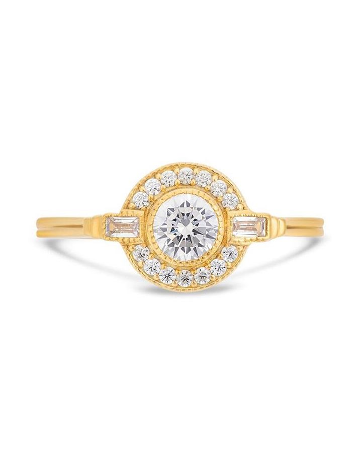 V by Laura Vann Engagement Ring