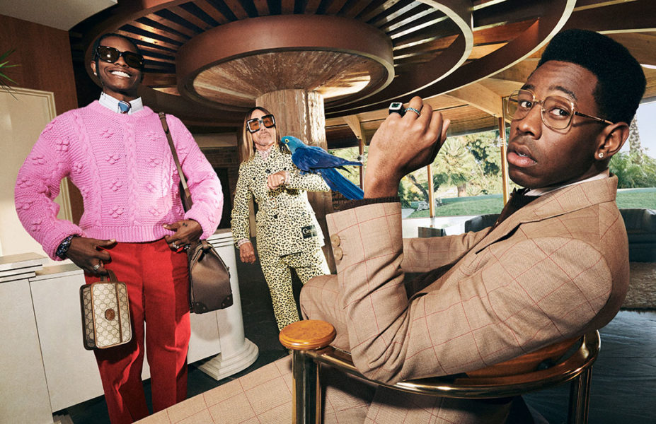 Gucci Campaign, Iggy Pop, A$AP Rocky, Tyler The Creator