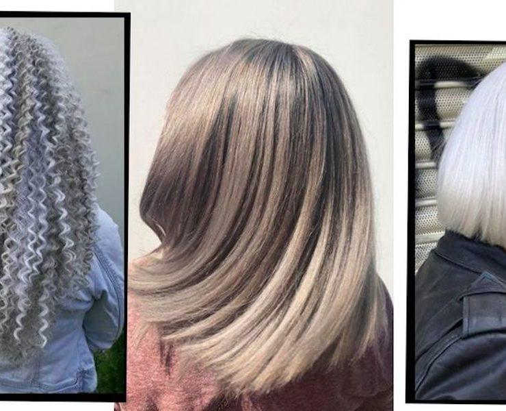 Silver Grey Hair Trend