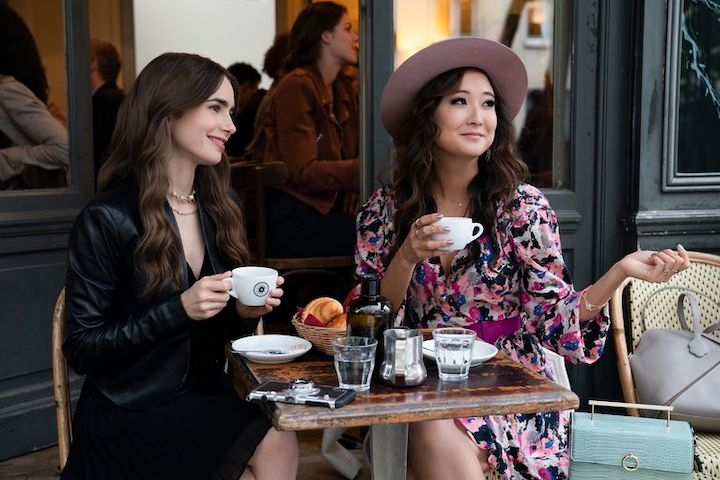 Lily Collins, Ashley Park, Emily in Paris