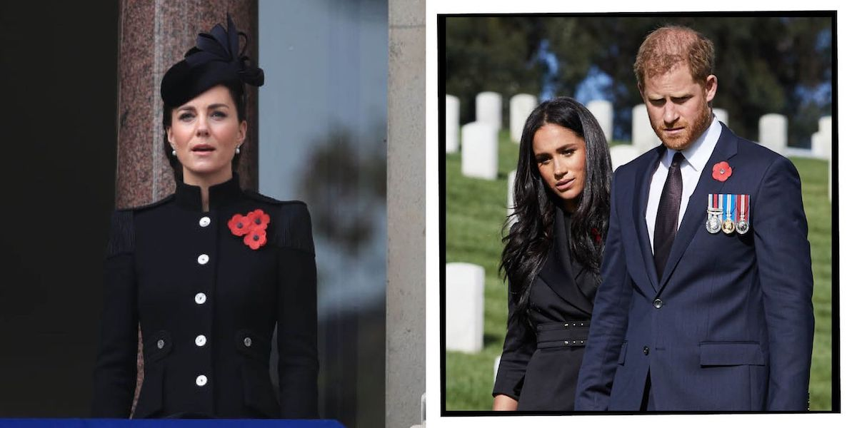 Kate Middleton, Prince Harry, Meghan Markle